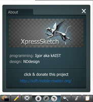 Symbian Xpress Sketch freeware