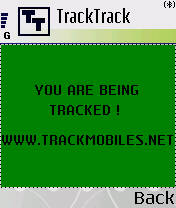 Symbian FREE TrackMobiles.Net Phone Program For SX1 freeware