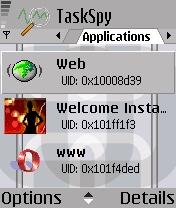 Symbian TaskSpy freeware