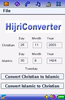 Symbian HijriConverter freeware